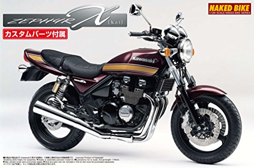 1/12 ネイキッドバイクシリーズ No.98 KAWASAKI ZEPHYRχ カスタムパーツ付き