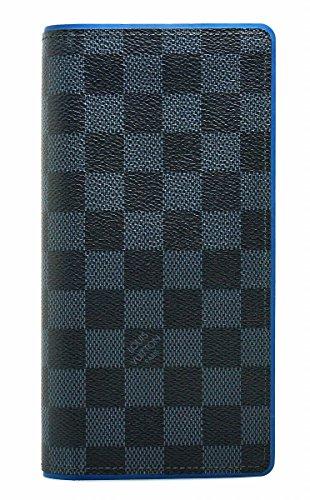 [ルイ ヴィトン] LOUIS VUITTON ダミエコバルト ポルトフォイユ ブラザ 2つ折長財布 N63243