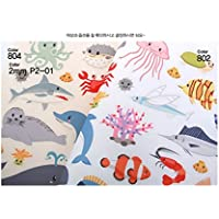 Korea Toy - Sea friend hard paper 804 color