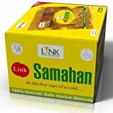 Link Samahan Ayurvedic Herbal Tea Packets Sri Lankan 100 Sachets