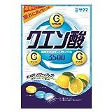サクマ クエン酸キャンデー 80g 【3袋セット】