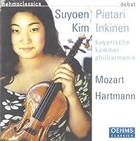 Suyoen Kim Performs Mozart & Hartmann (2013-08-05)
