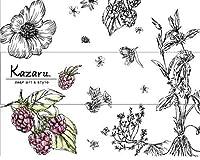 カミ商事 エルモアティシュ― Kazaruモノトーン 160組/箱 1セット(54箱:3箱×18パック)