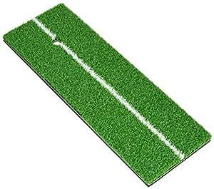 Tabata(タバタ) ゴルフ ショット用マット ゴルフ練習用 ショットマット 282 135×390mm ラバースポンジ付 フルショット対応 GV0282
