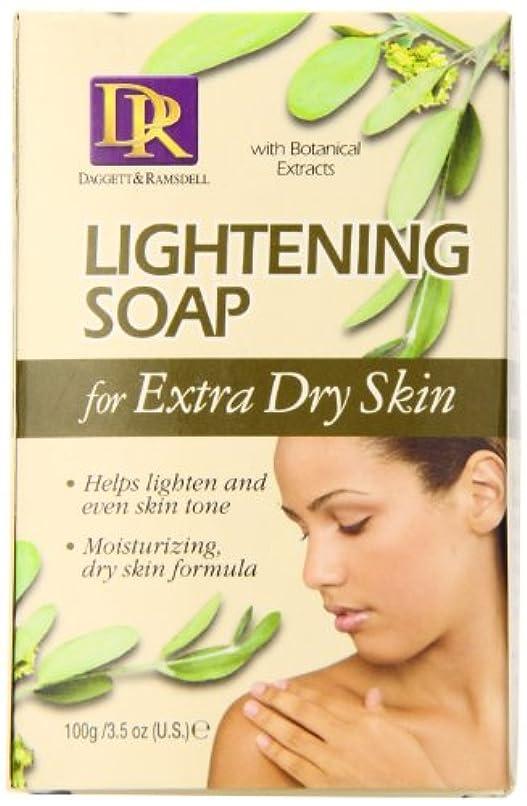 ブランド名値する幸運なことにDaggett & Ramsdell Lightening Soap For Extra Dry Skin 100g (並行輸入品)
