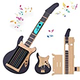 Nintendo Switch labo DIY ギター 任天堂 スイーチ 手作り ギター ニンテンドー用 ギター型 ダンボールカートン ゲームセット ダンボール玩具ギター