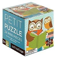 Petit Collage Petit Puzzle Reading Owls 【You&Me】 [並行輸入品]