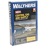 Walthers Cornerstone HO Scale Central Gas and Supply Structure Kit