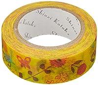 シール堂 ks-mt-10044 [ chirp ]  シンジカトウ マスキング テープ  Shinzi Katoh masking tape  日本製