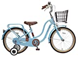 marukin(マルキン) 自転車 キッズ 18型 フロートミックス ライトブルー MK-16-002 MK-16-002