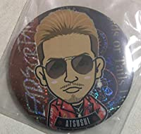 EXILE ATSUSHI STAR OF WISH 75mm 缶バッジ Heads or Tails 赤