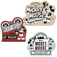 ダイゴー ディズニー ミッキー&ミニー メッセージカード ミッキー90周年 3枚 C T8253