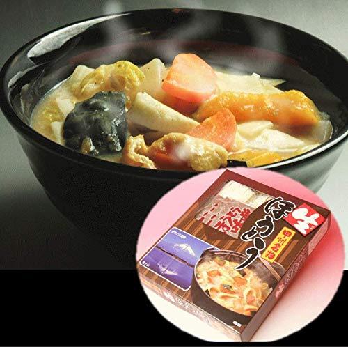 ほうとう 3,4人前 味噌つき 麺170g×3と味噌25g×3