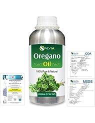 Oregano (Origanum vulgare) 100% Natural Pure Essential Oil 2000ml/67 fl.oz.