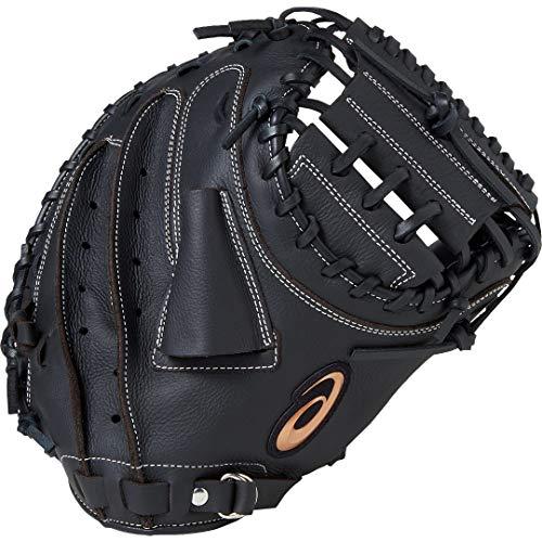 asics(アシックス) 軟式 野球用 グローブ キャッチャー用(右投げ用) 一般用 NEORIVIVE ネオリバイブ 2019年モデル 3121A229 Tブラック LH(右投げ用)