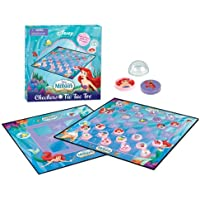 The Little Mermaid Checkers and ○ ×ゲーム