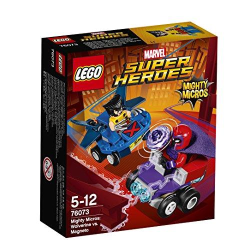 [해외] 레고(LEGO)슈퍼히어로즈 마이 T 마이크로 포스:울버린 VS 머그 니트(neat)― 76073-76073 (2017-02-03)