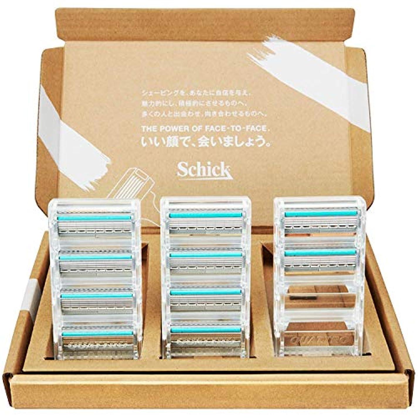 干渉前進ランデブー【Amazon.co.jp 限定】シック クアトロ4 チタニウム 替刃 10コ入