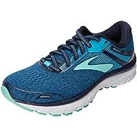 Brooks Women's Adrenaline GTS 18 Navy/Teal/Mint Running Shoe 8.5 Women US