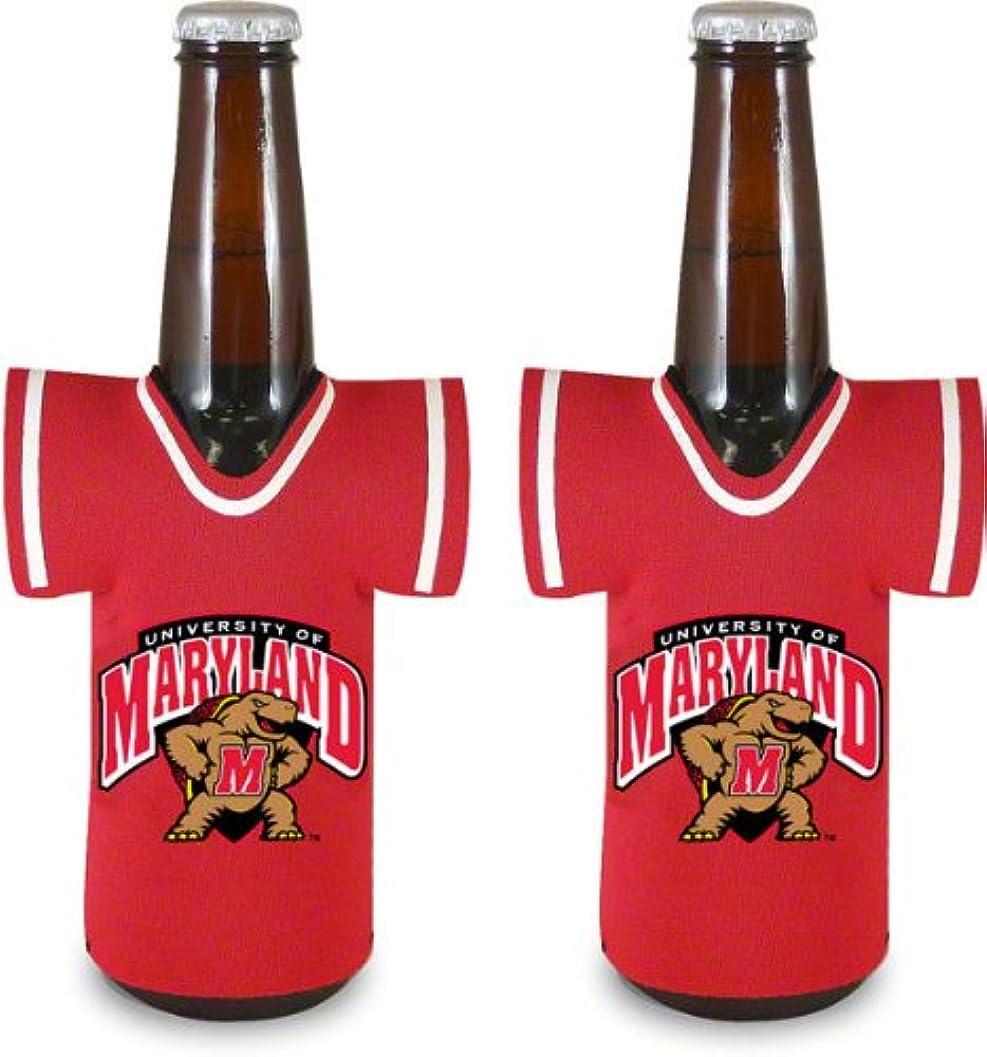 中間バラ色核NCAA Marylandボトルジャージー、ワンサイズ、マルチカラー