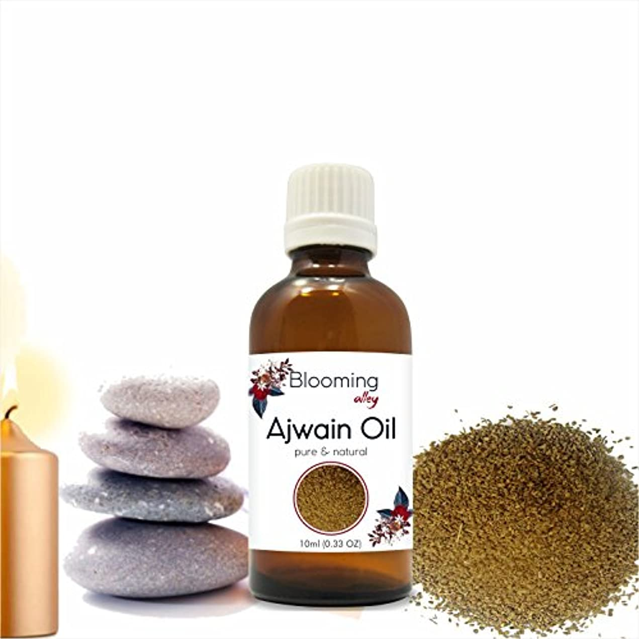 天国強制的文献AJWAIN (Trachyspermumammi) Essential Oil 10ML