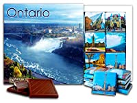 "DA CHOCOLATE キャンディ スーベニア ""オンタリオ"" ONTARIO"" チョコレートセット 5×5一箱 (Waterfall)"