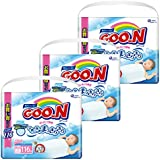 【ケース販売】グーン(GOO.N) テープ はじめての肌着 新生児 (お誕生~5kg) 348枚(116枚入×3パック)