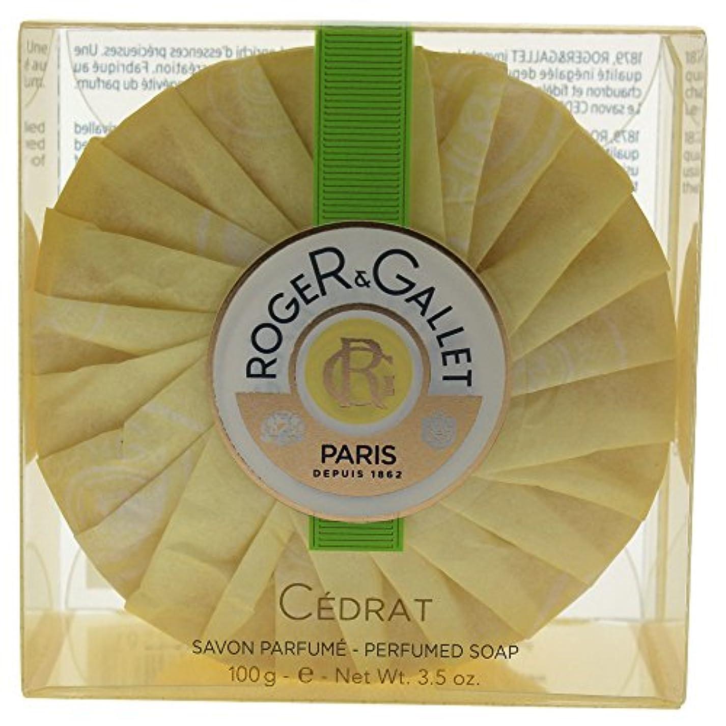 フクロウ葉を拾う小学生ロジェガレ セドラ パフュームド ソープ 100g 並行輸入品