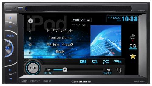カロッツェリア(パイオニア) メインユニット 6.1V型ワイドVGAモニター/DVD-V/VCD/CD/USB/チューナー FH-780DVD