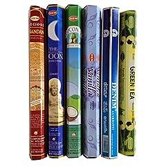 人気のインド香6種類セット