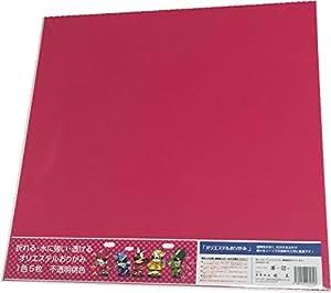 オリエステル折り紙 大判(43cm x 43cm) (不透明桃色)