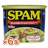 スパム(うす塩味)6缶