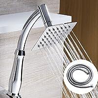 LJ バスルームハンドシャワーシャワーヘッド加圧水節約シングルヘッド子供たちはバスシャワーヘッドを取る ( サイズ さいず : B )