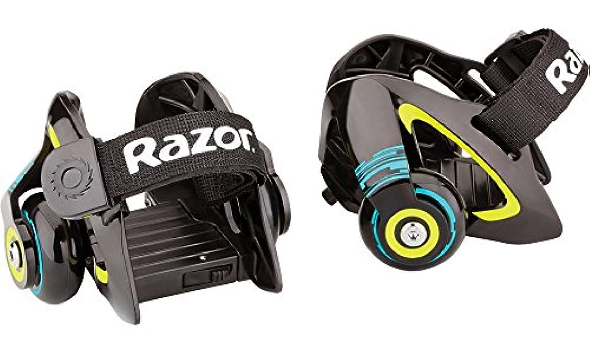 ただ宇宙飛行士適用するRazor Jetts Heel Wheels - Green