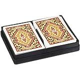 トランプKEMジャンボインデックスペイズリーブリッジサイズ KEM Jumbo Index Paisley Bridge Size Playing Cards
