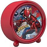 4453R Marvel Spiderman マーベル スパイダーマン 小さな 目覚まし時計 アラーム時計 [並行輸入品]