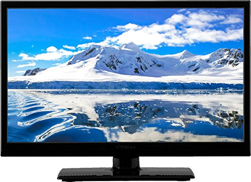 simplus (シンプラス) LED液晶テレビ 外付けHDD録画機能対応 1波 (19型, ブラック)