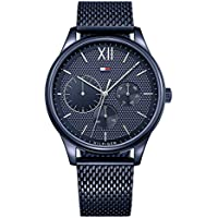 Tommy Hilfiger Men's 1791421 Year Round Analog Quartz Silver Watch