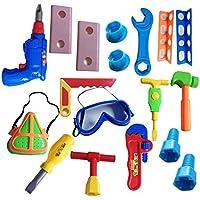 dongcrystalワークショップ修復/ Building Toy tools-18 PCツールおもちゃセット