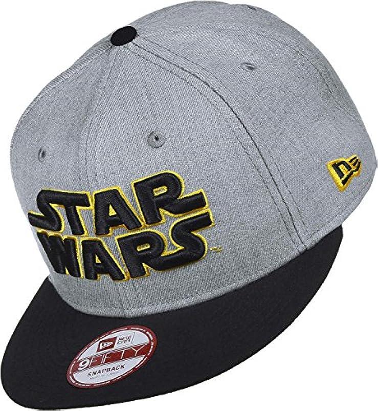 中で十年信仰New Era Star Wars EMEA Heather Grey Snapback Cap 9fifty Special Limited Edition