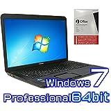 中古ノートパソコン 東芝 Satellite B372/H 【Windows7 Pro 64bit・17インチ液晶・Microsoft Office 2013付き ワード エクセル パワーポイント】