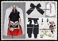 豪華版 Fate/Grand Order アストルフォ 黒のライダー 風 コスプレ衣装+靴下+髪飾り+靴 全セット 仮装 ステージ 舞台服 ハロウィン クリスマス