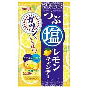 明治 つぶ塩レモンキャンデー 70g×6個