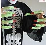 新春初売り 夜光性光る指長い爪10pcsセット商品 (夜光性光る指長い爪10pcsセット商品)