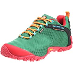 Merrell Chameleon II Storm Gore-Tex XCR: Green / Red