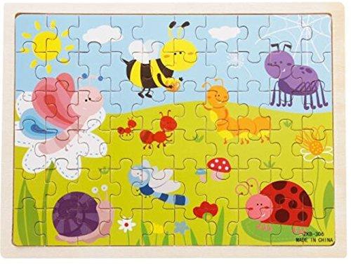 [해외]vytung 60 Pieces Jigsaw Puzzles for Girls Boys Toddlers Teens 성인 어린이 나무 퍼즐 곤충 동물/vytung 60 Pieces Jigsaw Puzzles for Girls Boys Toddlers Teens Adults Children Wooden Jigsaw Puzzle Insect Animals