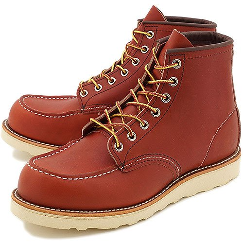 REDWING レッドウィング ブーツ #8875 CLASSIC WORK BOOTS アイリッシュセッター クラシック ワークブーツ 6インチ モックトゥ ORO-RUSSET PORTAGE(RED WING) 6.5(24.5cm)