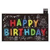 サンリオ 誕生日カード ライト&メロディ 光る文字 P473