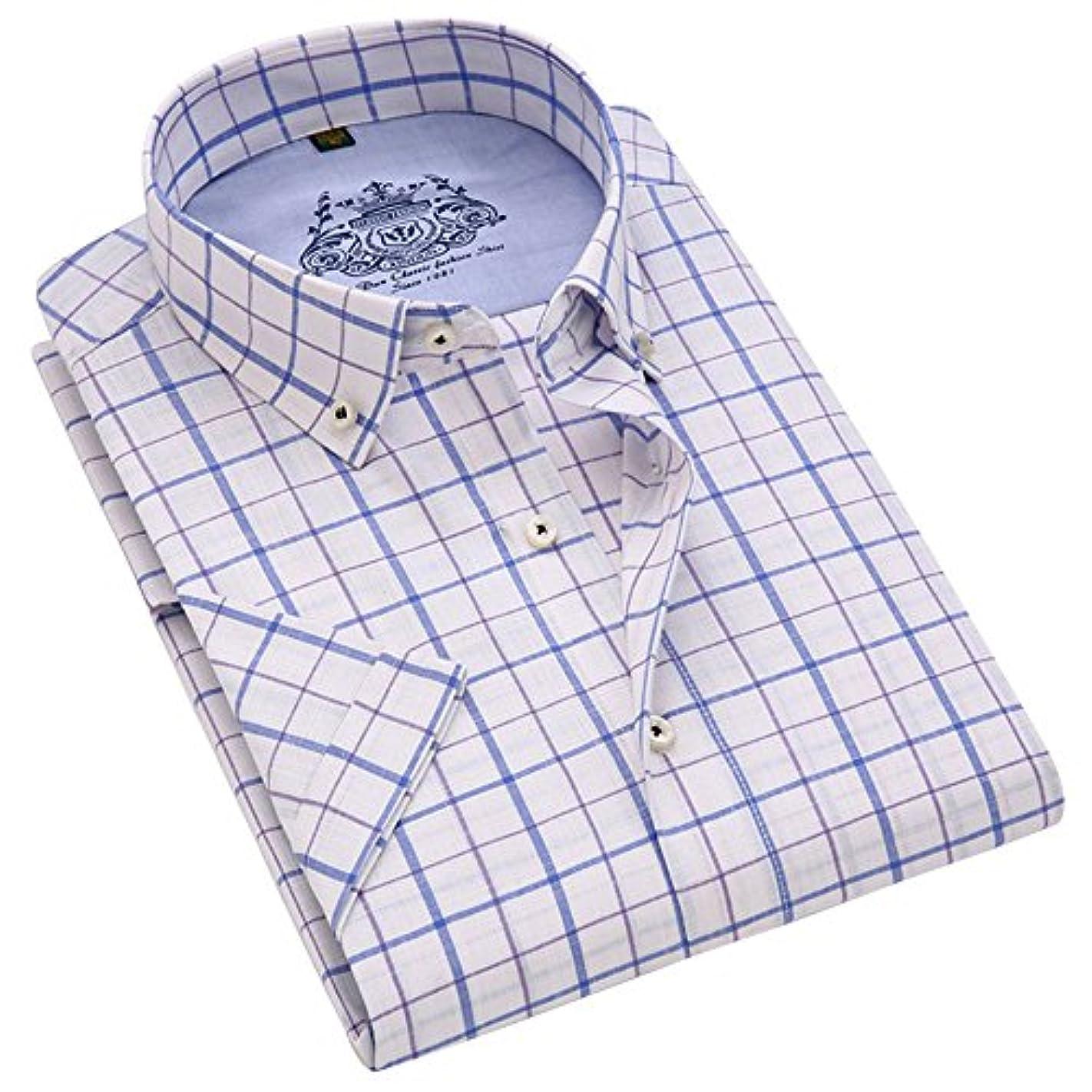 大胆不敵効能ハーネス(ワイ-ミー) Y-ME 半袖ワイシャツカジュアルビジネス紳士半袖シャツ 選択する10色 形態安定 豊富な7サイズ