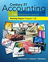 Century 21 Accounting Multicolumn Jrnl Working Papers 1-24